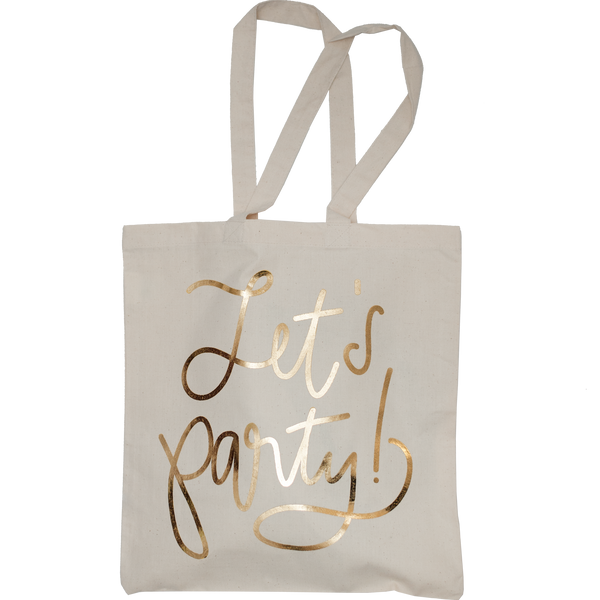 Let's Party Gold Foil