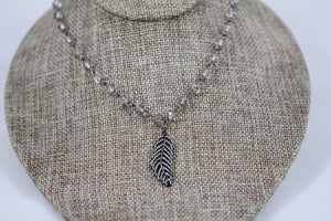 Pava Feather Choker