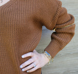 Zipper Detail Sweater