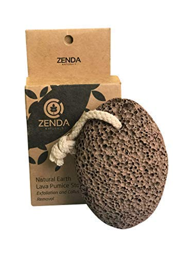 Zenda Naturals Earth Lava Pumice Stone, Foot File