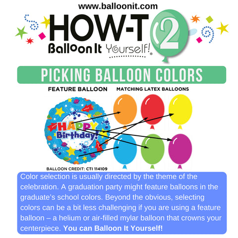 How-To BIY! | PICKING BALLOON COLORS