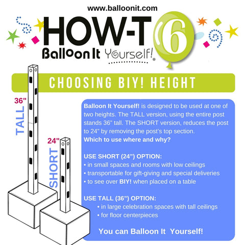 How-To BIY! | CHOOSING BIY! HEIGHT