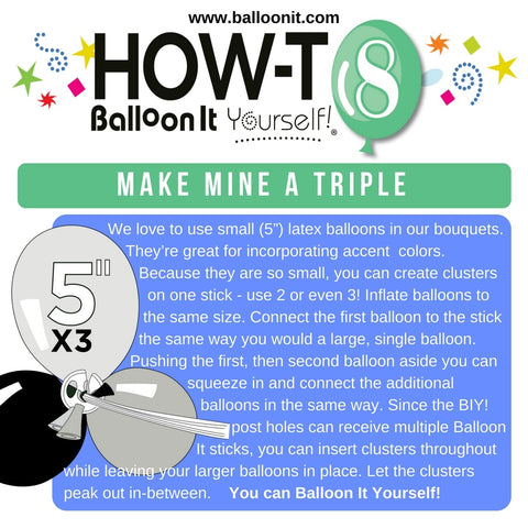 How-To BIY! | MAKE MINE A TRIPLE