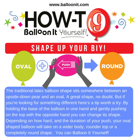 How-To BIY! | SHAPE UP YOUR BIY!