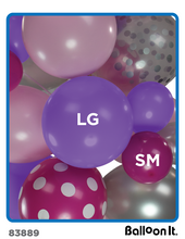 Load image into Gallery viewer, Birthday Crown Balloon It Bunch. All-in-one complete DIY Kit (1) - Balloon It