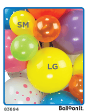 Load image into Gallery viewer, Mermaid Friends Balloon It Bunch. All-in-one complete DIY Kit (1) - Balloon It