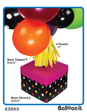 Load image into Gallery viewer, Panda-Monium Balloon It Bunch. All-in-one complete DIY Kit (1) - Balloon It
