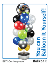 Load image into Gallery viewer, Balloon It Yourself! the Original Balloon Stand Kit WHITE (1) - Balloon It