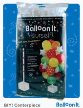 Load image into Gallery viewer, Blue Doodles First Birthday Balloon It Bunch. All-in-one complete DIY Kit (1) - Balloon It
