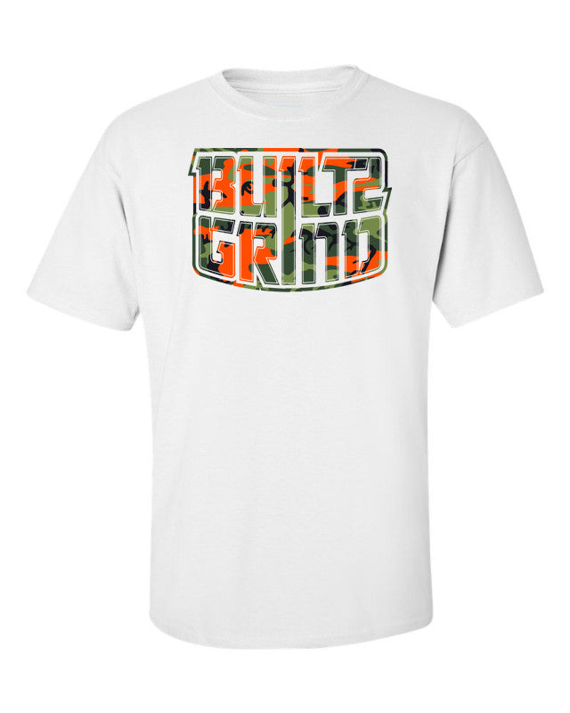 Orange Camo Classic Shirt