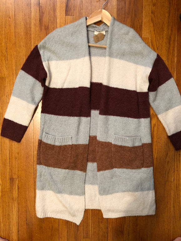 Dixie Striped Cardigan