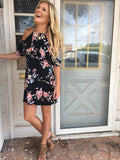 Floral Frock Dress