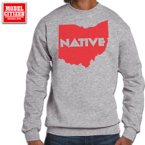 Ohio Native Block Crew Neck