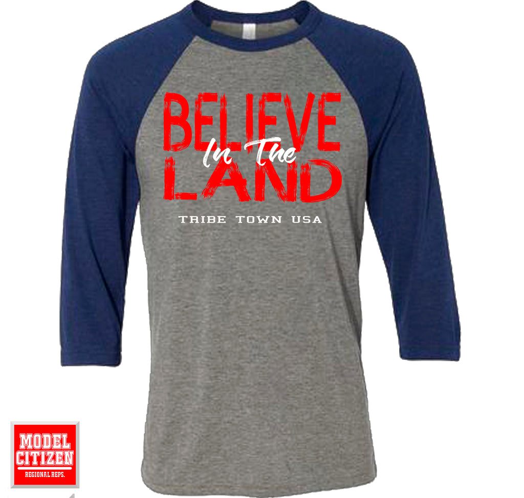 Believe in The Land - Raglan
