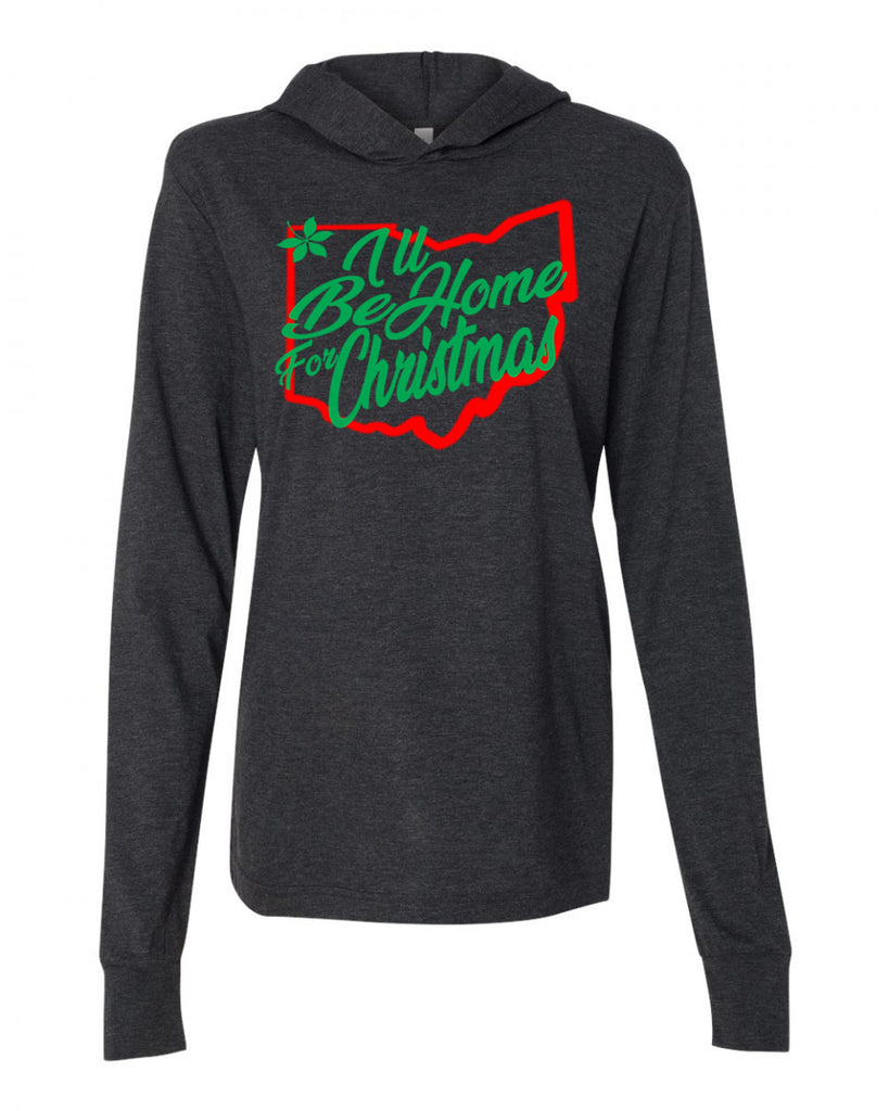 Home for Christmas Unisex Triblend Hoodie