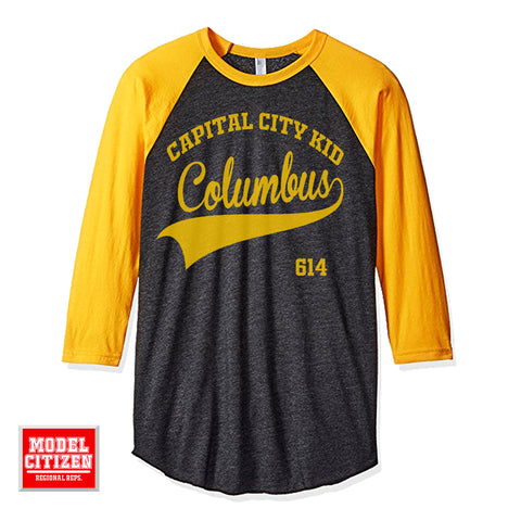 Capital City Kid Heather Black/Gold