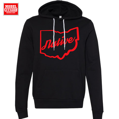 Ohio Native Hoodie (Black)