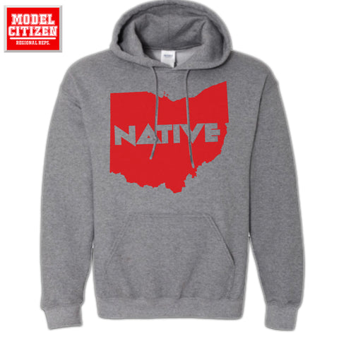 Ohio Native Block - Hoodie