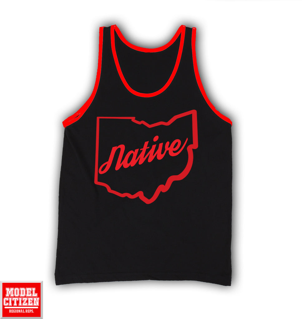 Women's Ohio Native Colorblock Tank