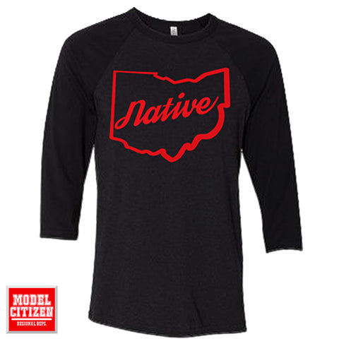 Ohio Native Raglan - NEW
