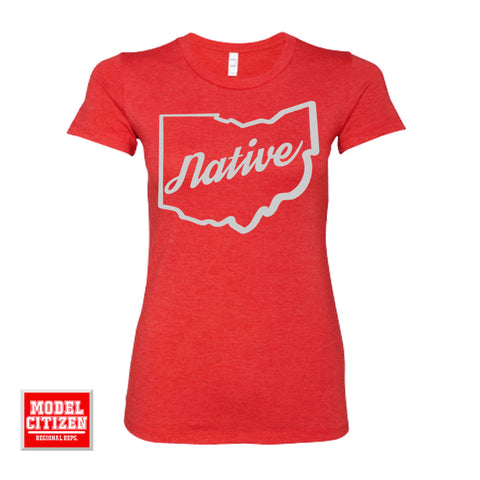 Ohio Native Women's Triblend