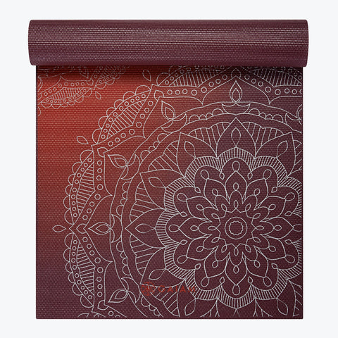 Premium Metallic Sunset Yoga Mat
