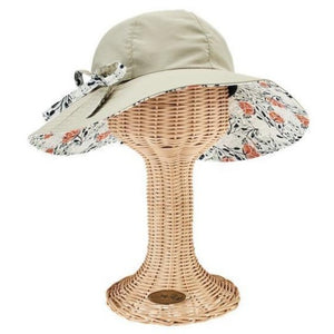 Sun Brim with Novelty Print UPF50+