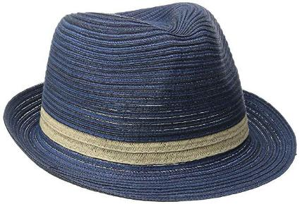 Mixed Braid Fedora