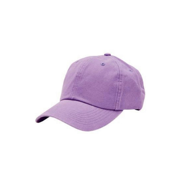 Washed Canvas Ball Cap with Adjustable Back (Three Colors Available)