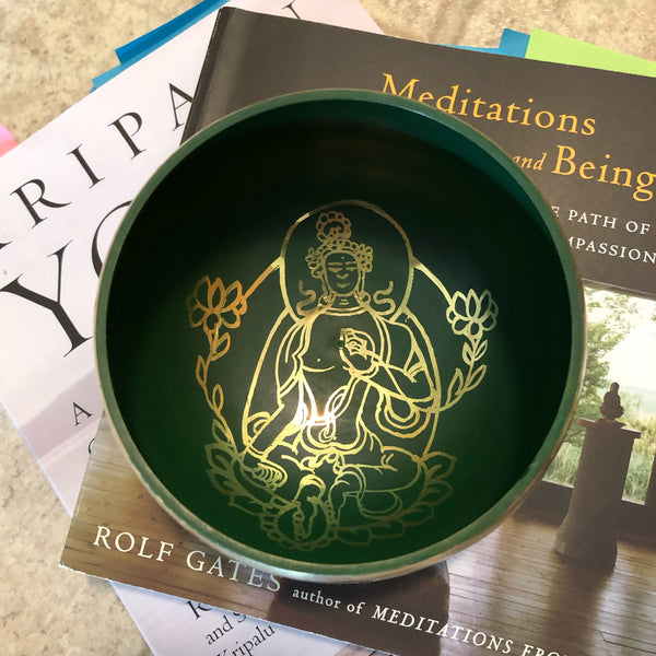 Singing Bowl - Green Tara