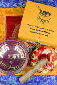 Singing Bowl - Colorful Gift Set
