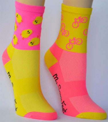 My Soxy Feet Cycling Chicks Cycling Socks