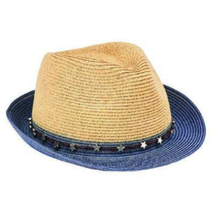 Ultrabraid Fedora With Star Trim