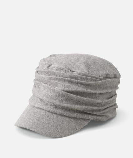 Jersey Cap with Ruching (Two Colors)