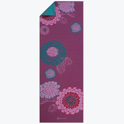 Reversible Kiku Yoga Mat (6mm)
