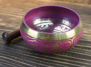 Singing Bowl - 4 Inch Lotus