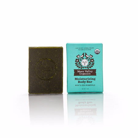 Cleansing Body Bar Mint & Sea Mineral