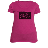 Spinning Womens Fitness T-Shirt