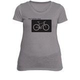 Biking Womens Fitness T-Shirt
