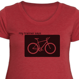 Bike - Women's Fitness T-Shirt