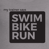 Swim Bike Run - Women's Fitness T-Shirt
