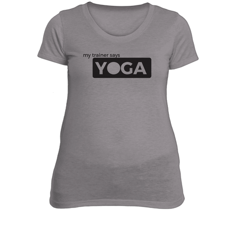 Yoga Ladies Fitness T-Shirt