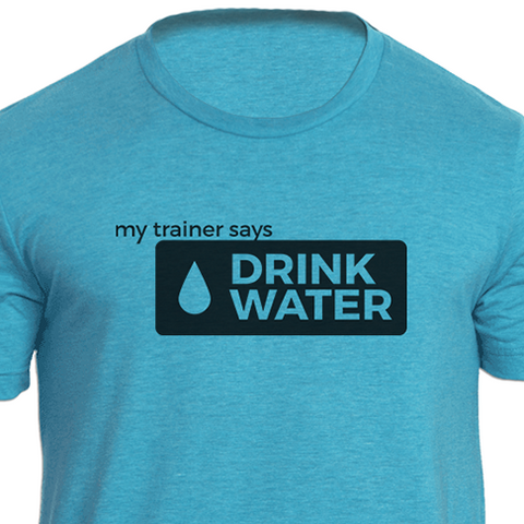 Drink Water Fitness Tee Shirt