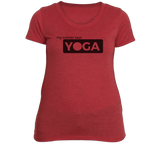 Yoga Woman's Fitness T-Shirt