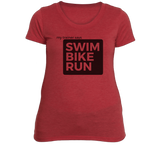 Triathlon Women's Fitness T-Shirt