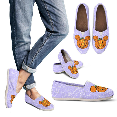 Pumpkin Mouse Casual Shoes