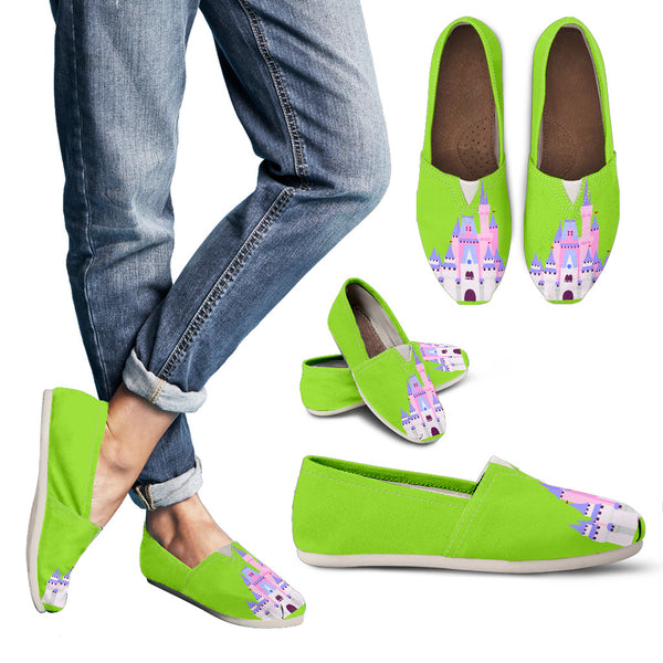 Lime Castle Casual Shoes