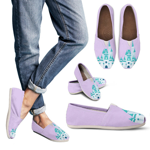 Lavender Castle Casual Shoes