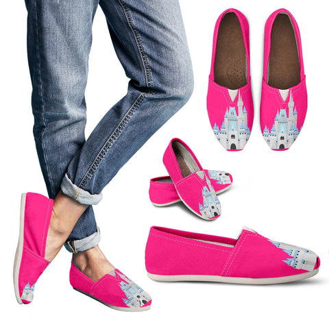 Hot Pink Castle Casual Shoes