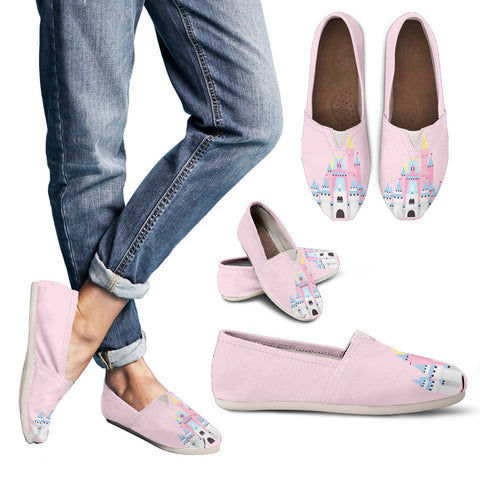 Pink Castle Casual Slip-On